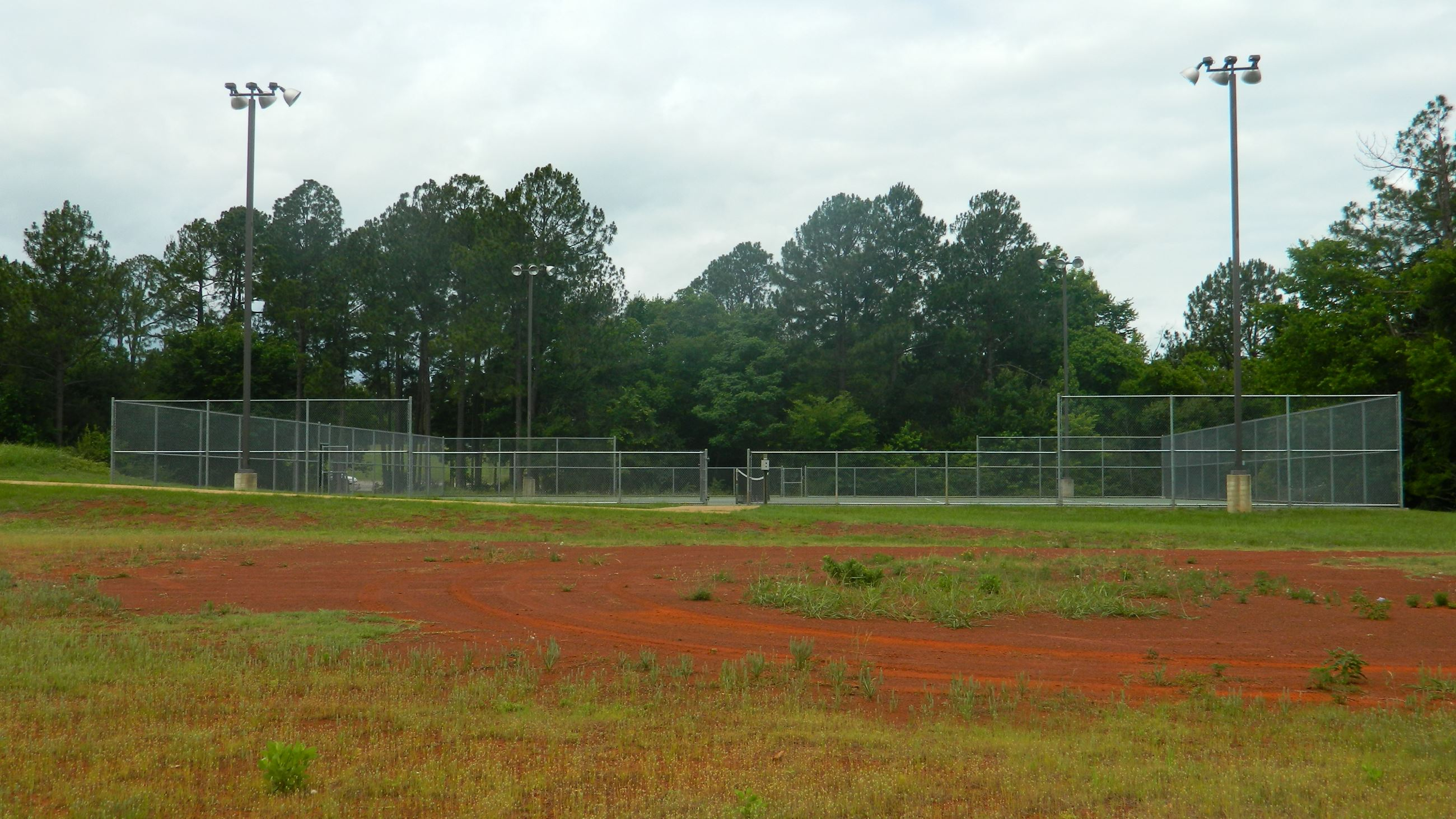 Nichols Green Phase II Tennis Court