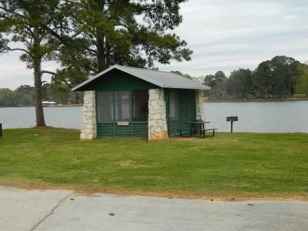 Lake Jacksonville Campgrounds - Shelter 10