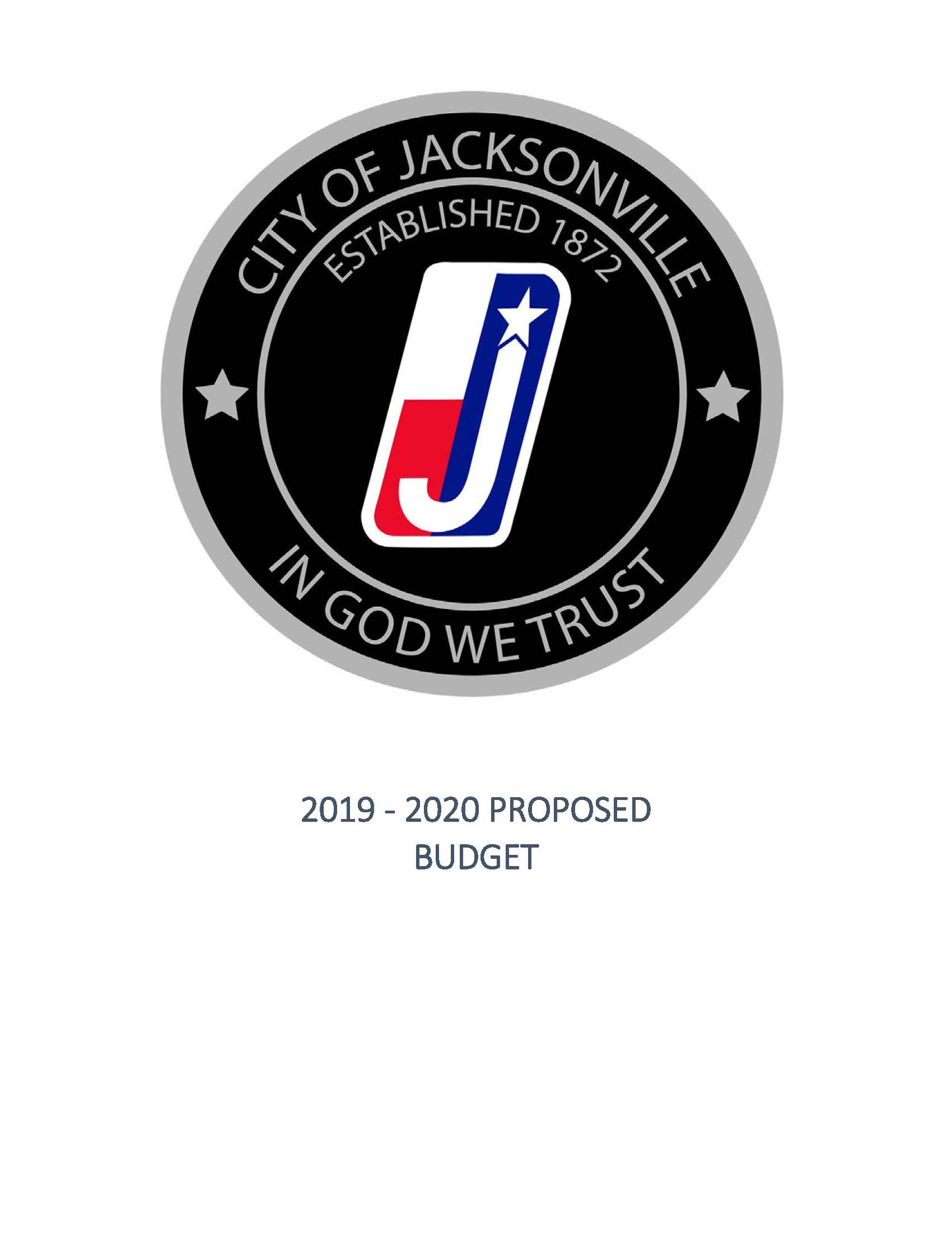 FY 2019-2020 Proposed Budget_COVER SHEET