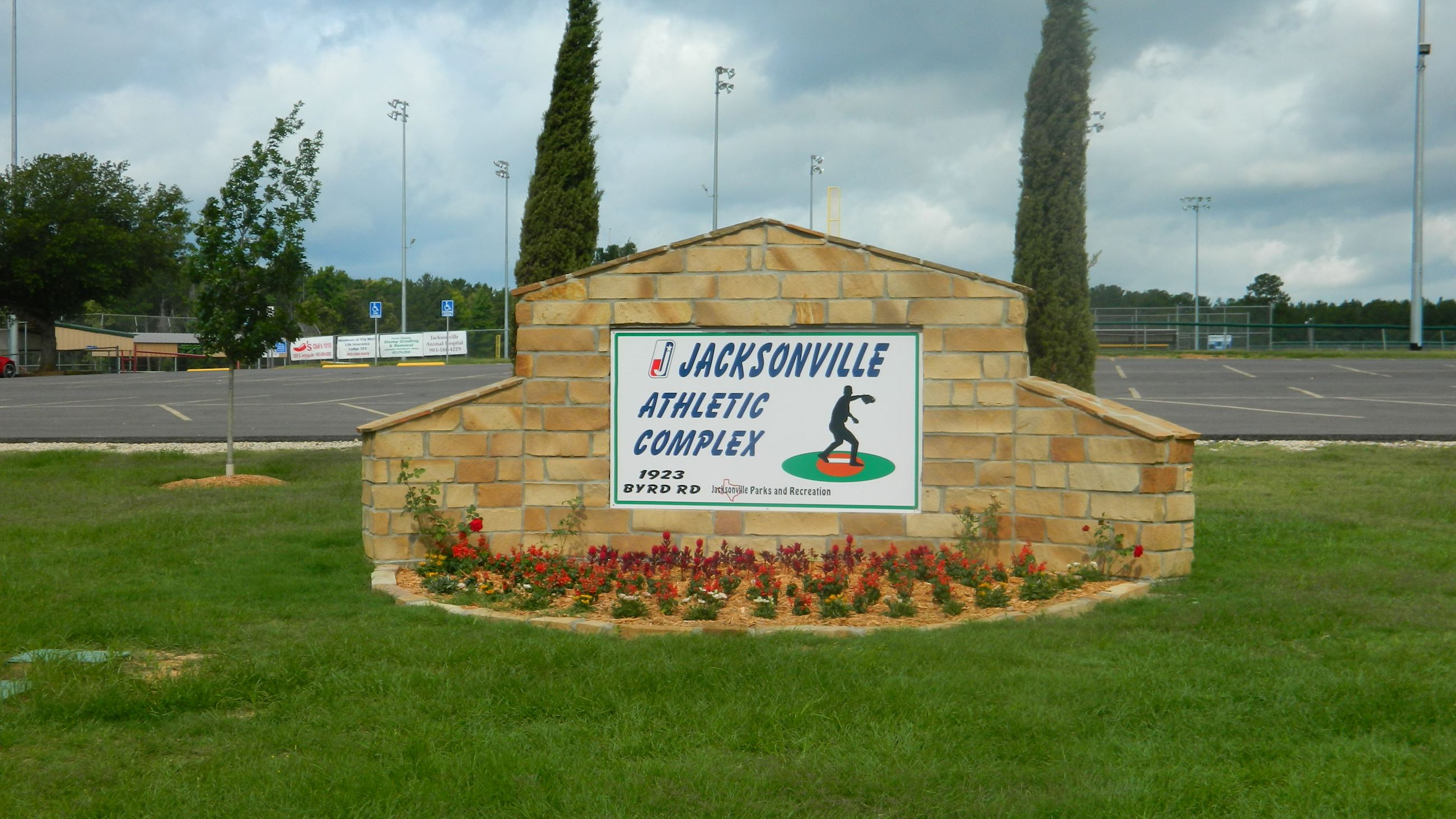 Jacksonville Athletic Complex Sign