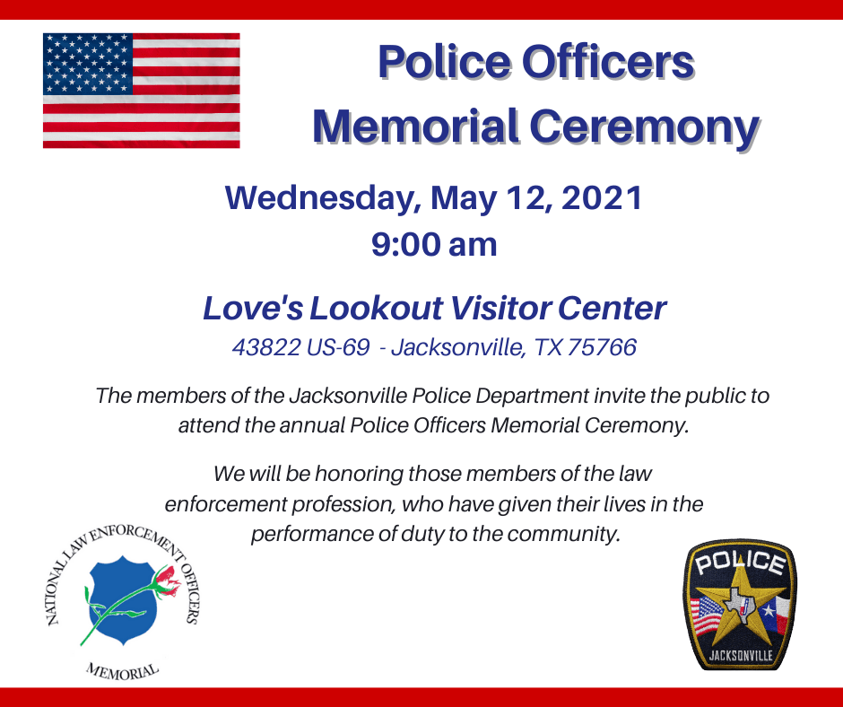 Police Officers Memorial Ceremony PUBLIC SOCIAL MEDIA POST