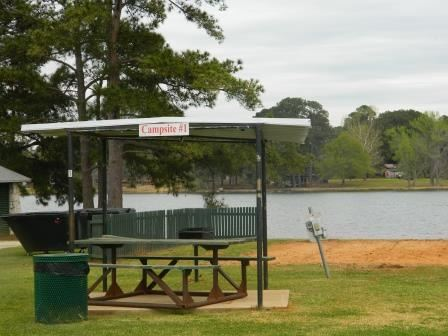 Lake Jacksonville Campgrounds - Campsite 1